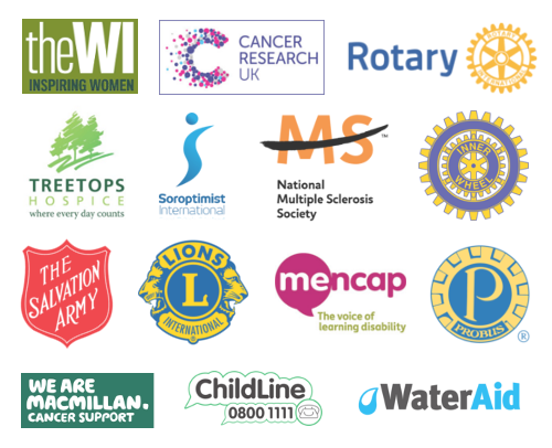 a grid presenting well known organisations we have worked for in the past
